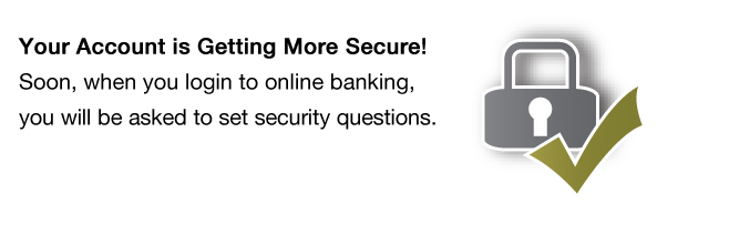 Your Account is Getting More Secure!
