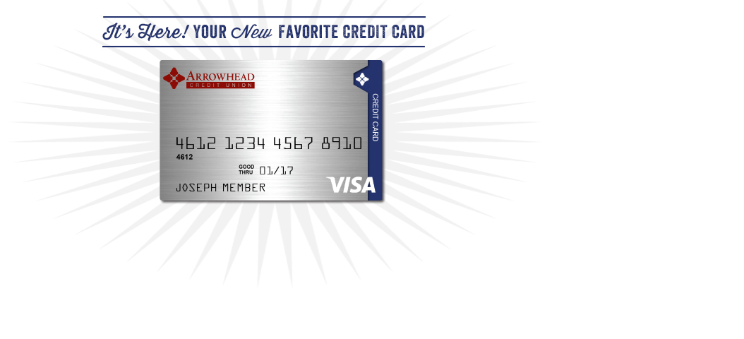 It's Here! Your New Favorite Credit Card