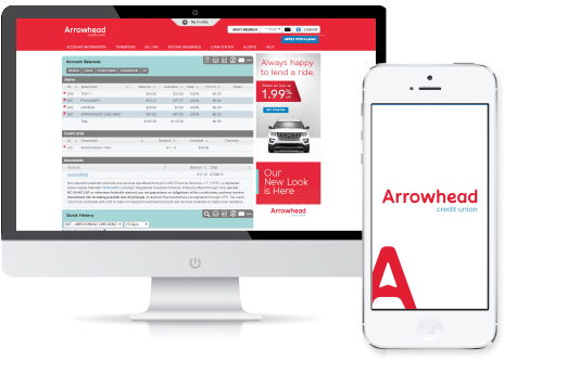 Arrowhead online and mobile